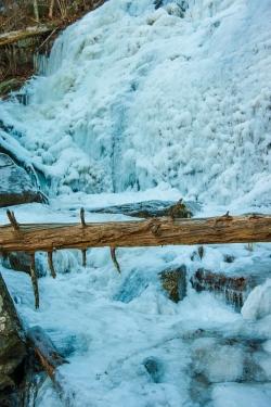 Log Over (Now Frozen) Cascade