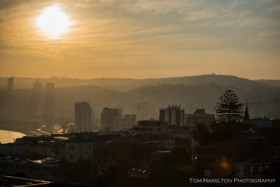 Sunrise in Valparaiso