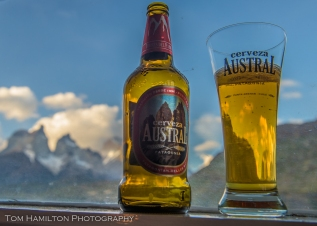Even the beer is epic in Patagonia...as delicious as it looks