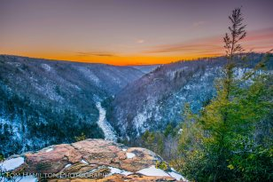 Blackwater Canyon in West Virginia