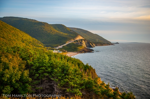 "The most famous section of the ""World Famous"" Cabot Trail"