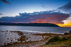 Sunset in Norris Point