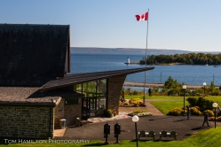 Alexander Graham Bell National Historic Site over looking Lake Bras D' Or