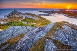 Rose Blanche Lighthouse on the Southwestern coast