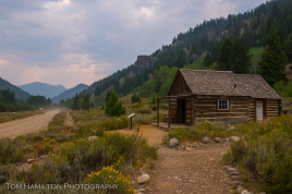 The abandoned ghost town of Custer.