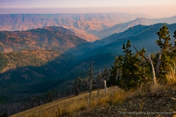Hells Canyon, the deepest canyon in North America (2,000' deeper than the Grand canyon)