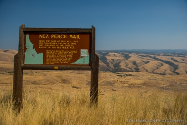 White Bird battlefield, where the Nez Perce War began.