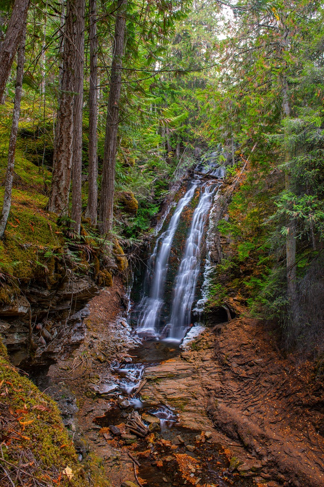 Fletcher Falls in British Columbia, is just one of thousands of incredible cascades.