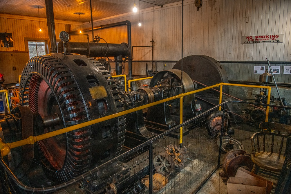 Canada's oldest continually-operating machine (seen here in Sandon, BC) is powered by snowmelt.